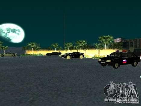 Nuevo showroom en San Fierro para GTA San Andreas sucesivamente de pantalla