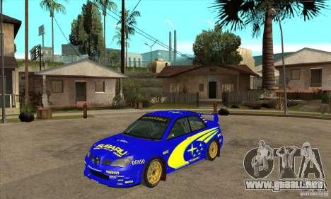 Subaru Impreza STi WRC wht1 para GTA San Andreas left