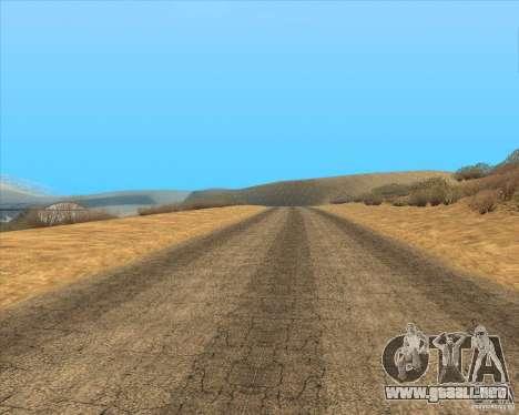 Desert HQ para GTA San Andreas novena de pantalla