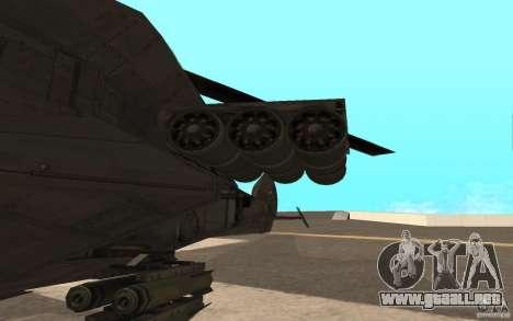 MQ Drone from BO2 para GTA San Andreas left