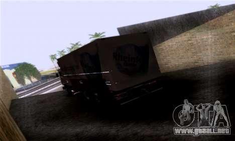 Volvo F10 para GTA San Andreas left