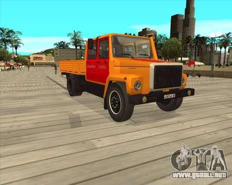 Luces de peligro GAZ 3309 para GTA San Andreas left