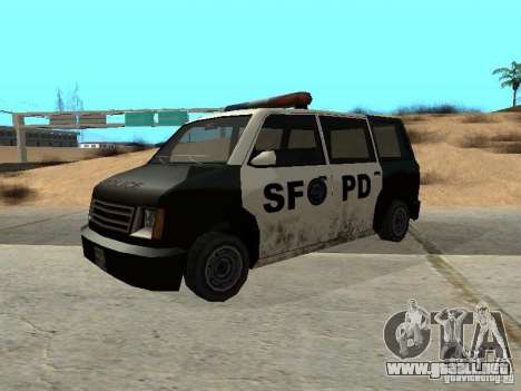 Moonbeam Police para GTA San Andreas