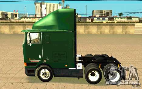 Navistar International 9800 para GTA San Andreas left