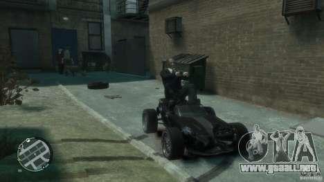 Banshee Go Kart para GTA 4 left