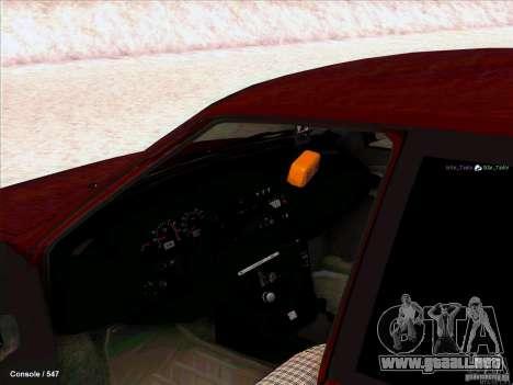 VAZ 2109 invierno para GTA San Andreas left
