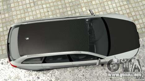 Audi RS6 Avant 2010 Carbon Edition para GTA 4 vista desde abajo