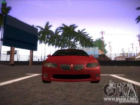 Pontiac FE GTO para GTA San Andreas left