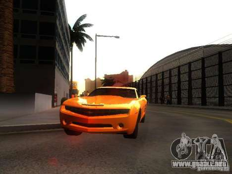 Chevrolet Camaro 2007 para GTA San Andreas left
