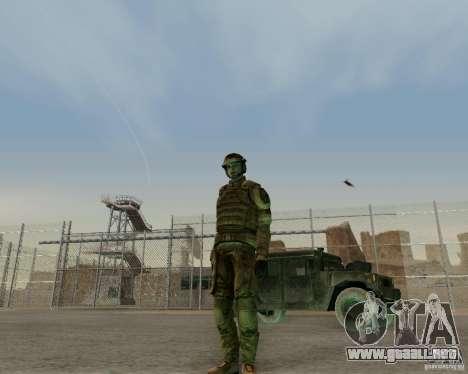 Tom Clancys Ghost Recon para GTA San Andreas tercera pantalla