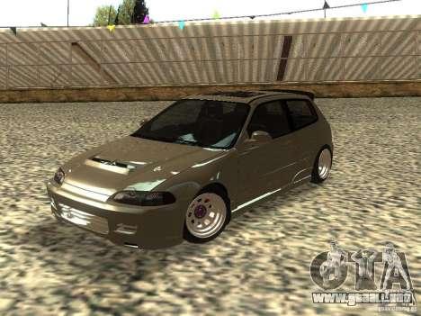 Honda Civic EG6 JDM para GTA San Andreas