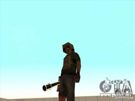 New Weapons Pack para GTA San Andreas quinta pantalla