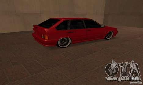 Ваз Dag 2114 estilo para GTA San Andreas vista posterior izquierda