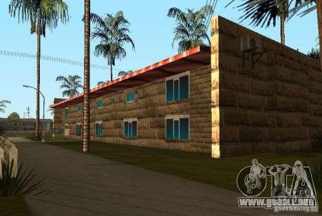 Nuevas texturas de casas en la calle Grove para GTA San Andreas sucesivamente de pantalla