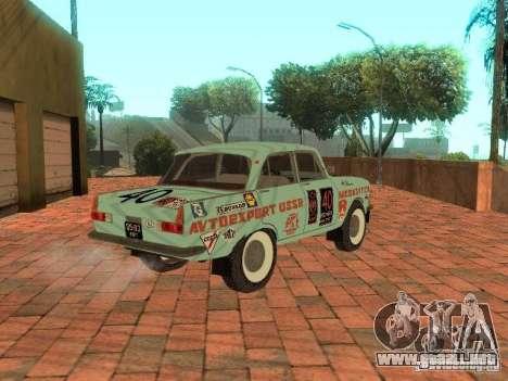 Versión Rally Moskvich 412 para GTA San Andreas left