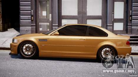 BMW M3 E46 Tuning 2001 v2.0 para GTA 4 left