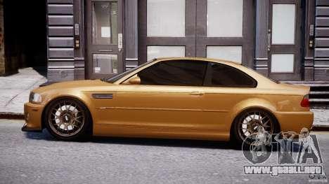 BMW M3 E46 Tuning 2001 v2.0 para GTA 4 left