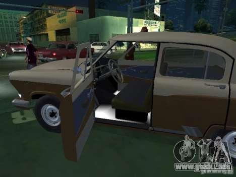 GAS M21T Taxi para vista lateral GTA San Andreas