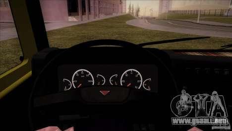 KAMAZ 5460 Restyling para GTA San Andreas vista hacia atrás