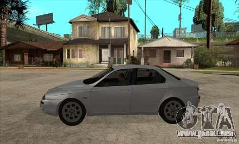 Alfa Romeo 156 2,5V6 2000 para GTA San Andreas left