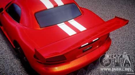 Dodge Viper RT 10 Need for Speed:Shift Tuning para GTA 4 vista interior