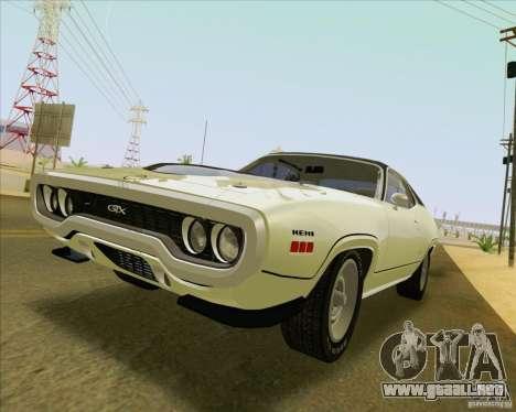 New Playable ENB Series para GTA San Andreas sexta pantalla