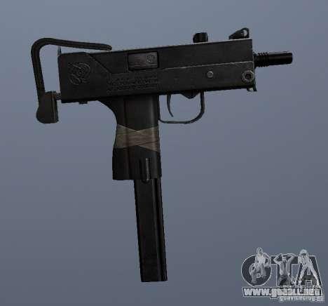MAC10 para GTA San Andreas sucesivamente de pantalla