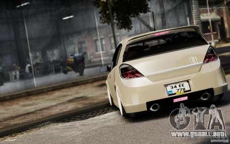 Opel Astra para GTA 4 vista lateral