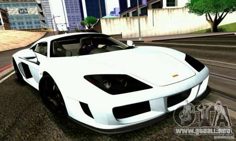 Noble M600 2010 V1.0 para la visión correcta GTA San Andreas