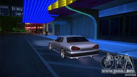 Elegy Drift para GTA San Andreas vista posterior izquierda