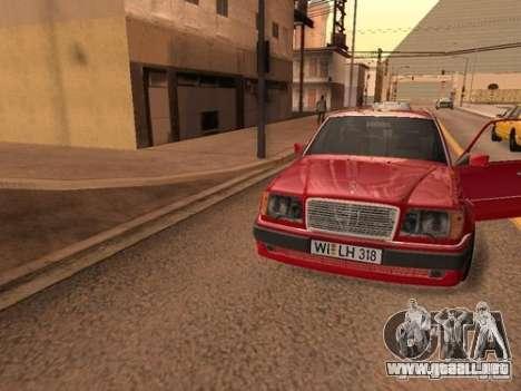 Mercedes-Benz E500 Taxi 1 para visión interna GTA San Andreas