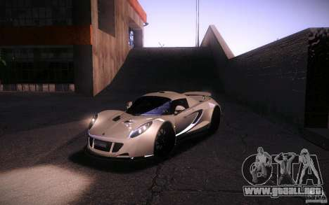 Hennessey Venom GT 2010 V1.0 para vista lateral GTA San Andreas