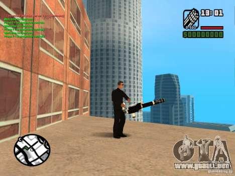 Gun Pack by MrWexler666 para GTA San Andreas sexta pantalla