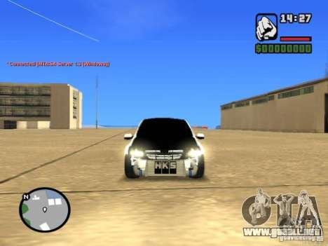 Estilo VAZ 2190 Grant JDM para la visión correcta GTA San Andreas