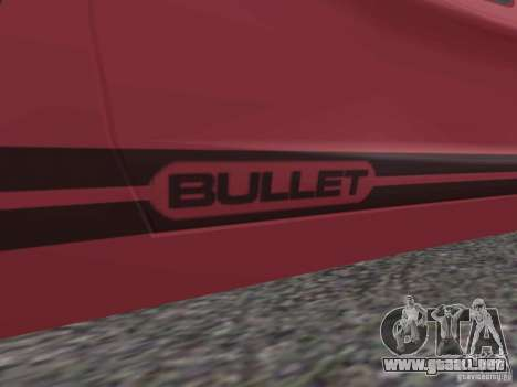 Bullet HQ para GTA San Andreas left