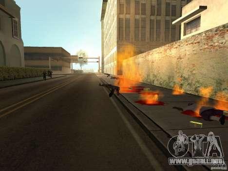 Armas nacional-versión 1.5 para GTA San Andreas