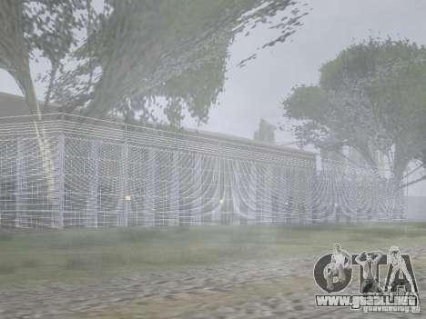 El primer taxi Parque versión 1.0 para GTA San Andreas séptima pantalla