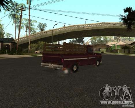Chevrolet C 10 para GTA San Andreas left