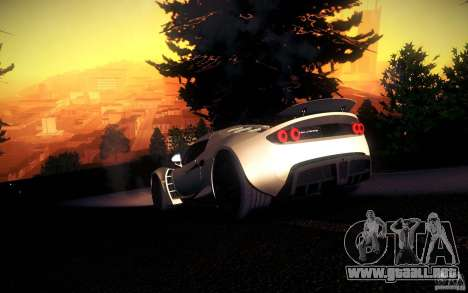 Hennessey Venom GT 2010 V1.0 para la vista superior GTA San Andreas