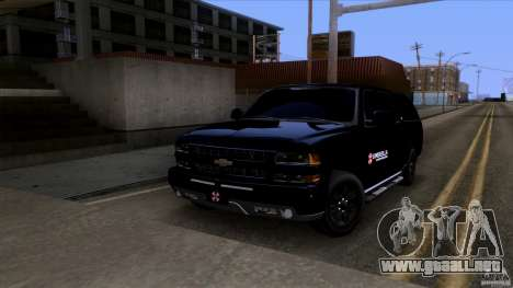 Chevrolet Suburban 2003 v2 para GTA San Andreas left