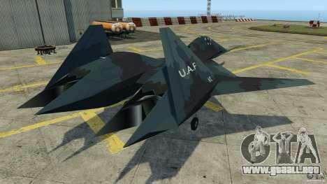 ADF-01 Falken para GTA 4 Vista posterior izquierda