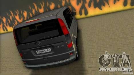 Mercedes-Benz Vito 2007 para GTA Vice City vista lateral izquierdo