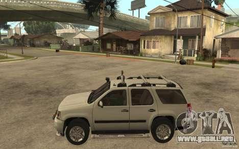 Chevrolet Tahoe para GTA San Andreas left
