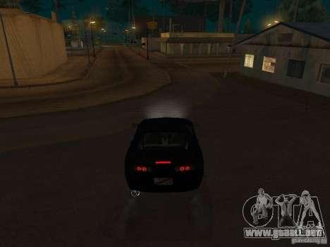 Toyota Supra MKIV para la visión correcta GTA San Andreas
