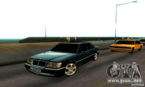 Mercedes-Benz W124 E420 AMG para GTA San Andreas left