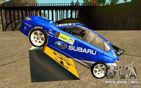 Vinilo nuevo Subaru Impreza WRX STi para GTA San Andreas left
