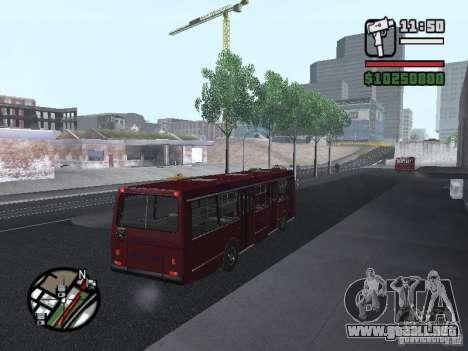 LAZ 5252 para la visión correcta GTA San Andreas
