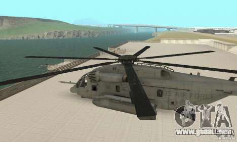 Sikorsky MH-53 para la visión correcta GTA San Andreas