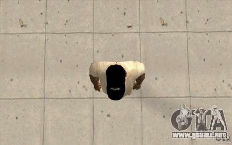 Gorra fox para GTA San Andreas tercera pantalla