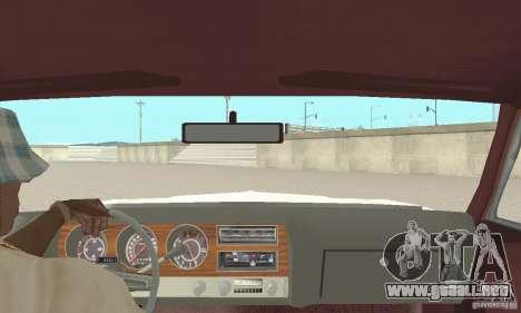 Pontiac LeMans 1971 para GTA San Andreas vista hacia atrás